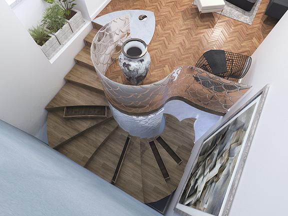 pic02-escadas.top view